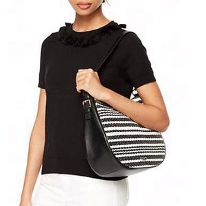 Kate Spade New York Cobble Hill Straw Mylie Bag